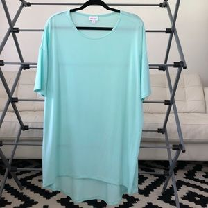 New/ no tag light teal size medium LulaRoe Irma